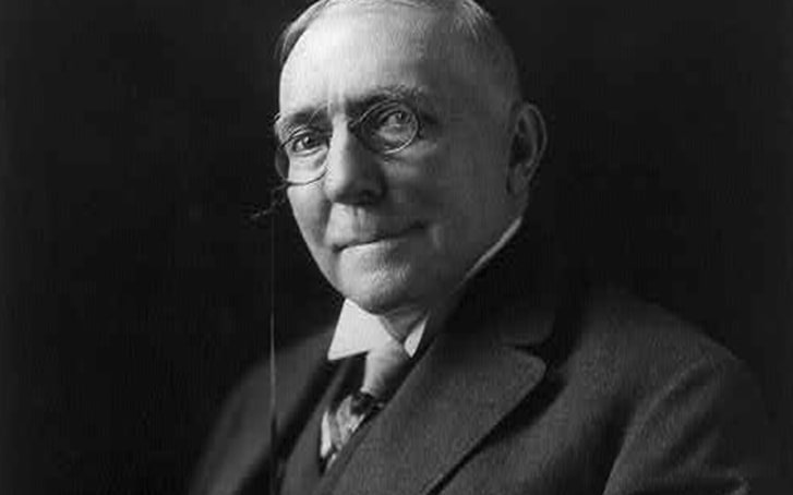 A photo of James Whitcomb Riley