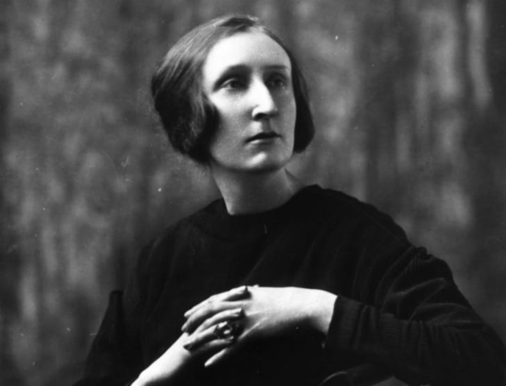 A photo of Dame Edith Sitwell