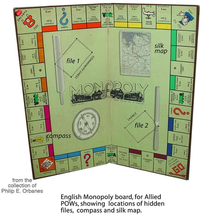 How a Brilliant Intelligence Officer Used 'Monopoly' to Free