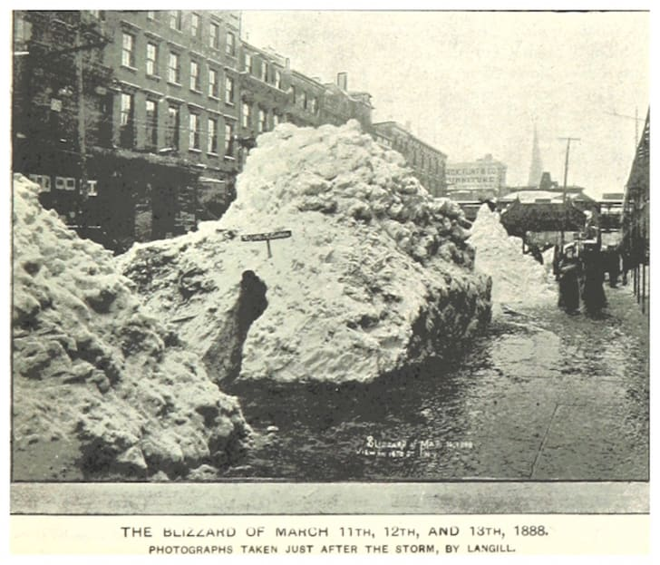 Photos From New York After The Blizzard Of 1888 Mental Floss