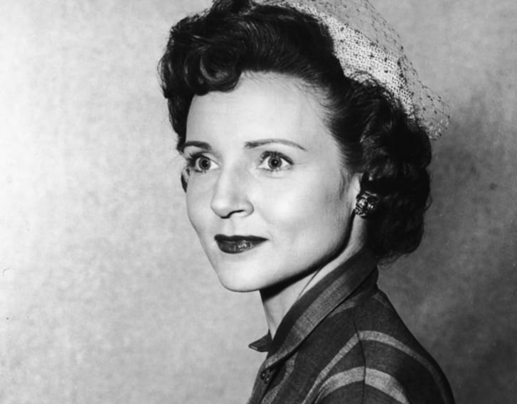 A photo of actress Betty White