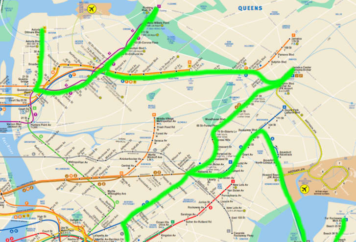 Subway Map From 88 St To 59th Street.Is It Possible To Ride The Entire New York Subway System In A Single