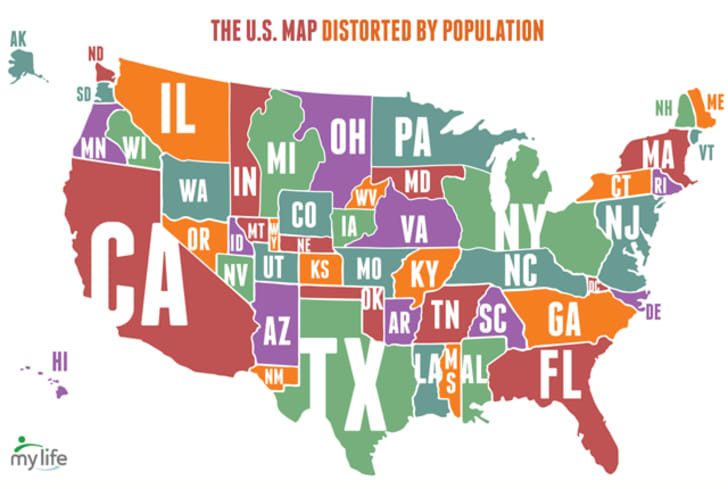 25 Maps That Describe America Mental Floss - A-map-of-us