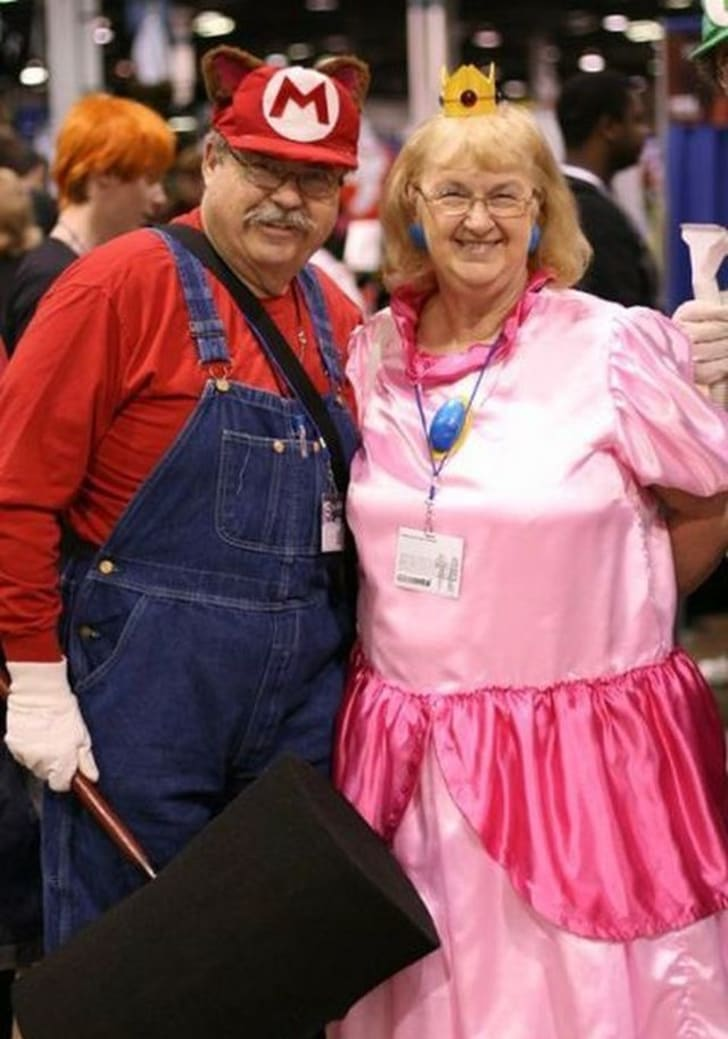 Cosplay for older adults