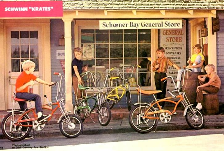 11 Ways Kids Used To Soup Up Their Bikes Mental Floss