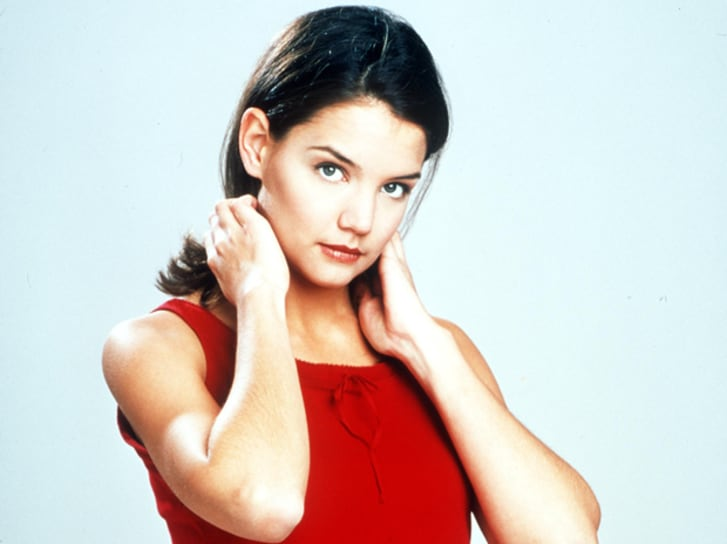 Katie Holmes as Joey Potter in 'Dawson's Creek'