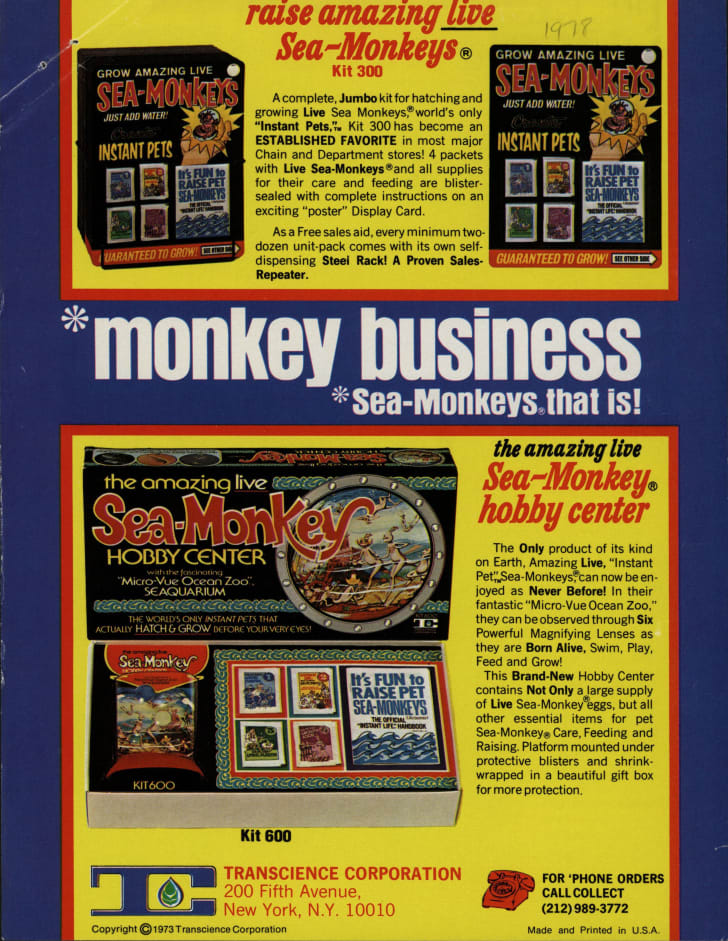 Trade publication ad circa 1973.