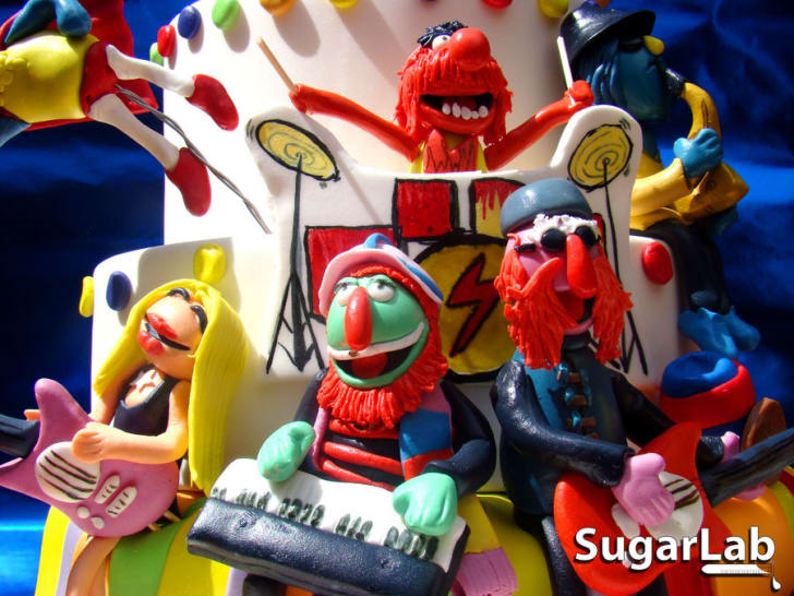 15 Delightful and Delicious Muppet Cakes | Mental Floss
