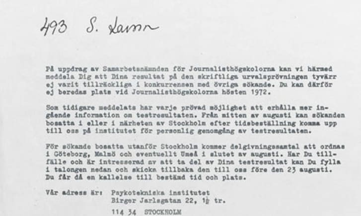 10 Rejection Letters Sent To Famous People