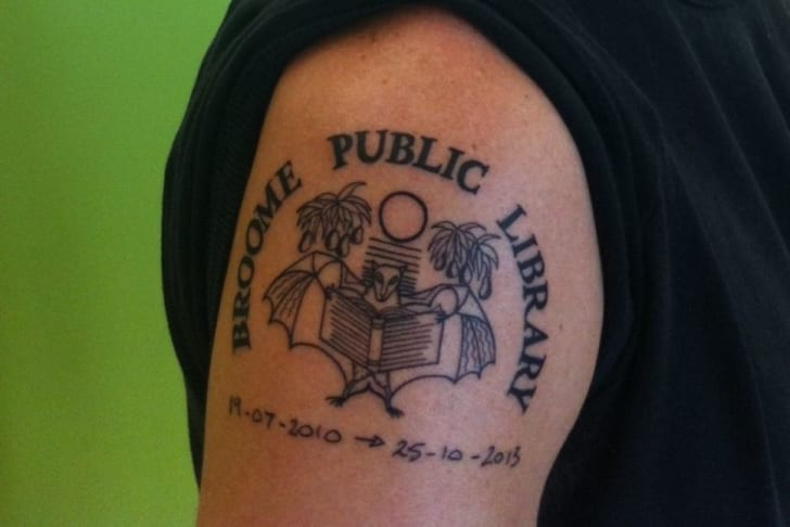 7555eb1487871 24 Awesome Librarian Tattoos | Mental Floss