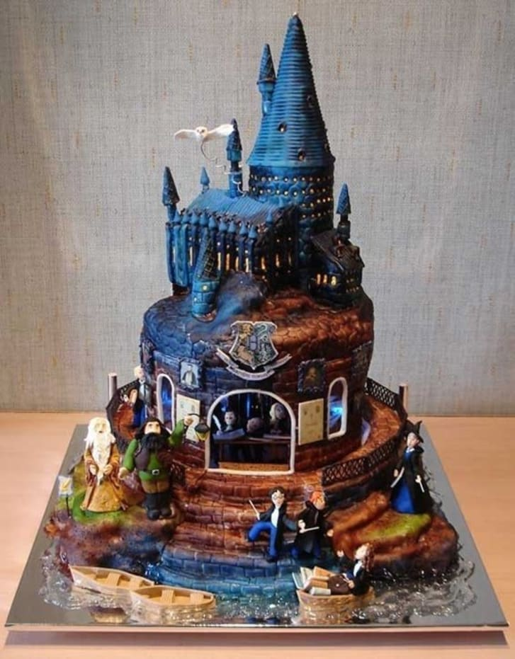 While The Cake Apothecarys Version Might Not Be 100 Accurate To Movie Layout Or Feature Special Effects Like Some Of Ones Above It Makes Up For