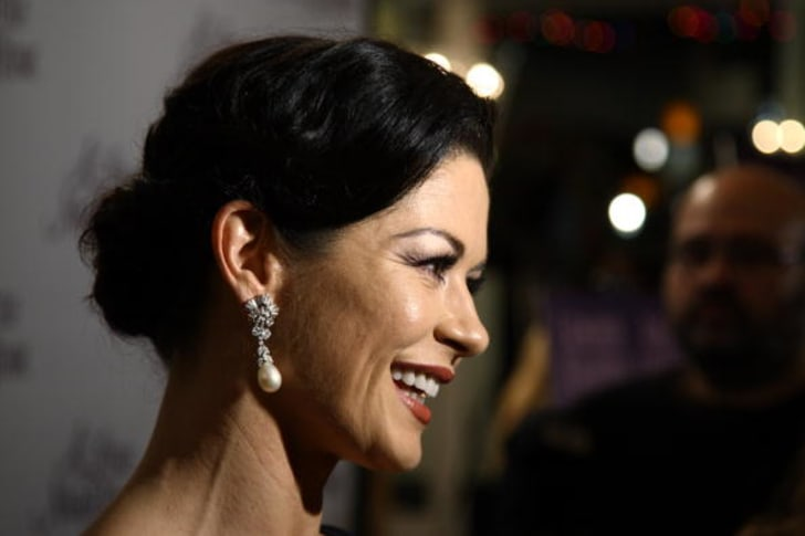 Actress Catherine Zeta-Jones attends the Broadway opening after party for 'A Little Night Music' at the Tavern On The Green on December 13, 2009 in New York City