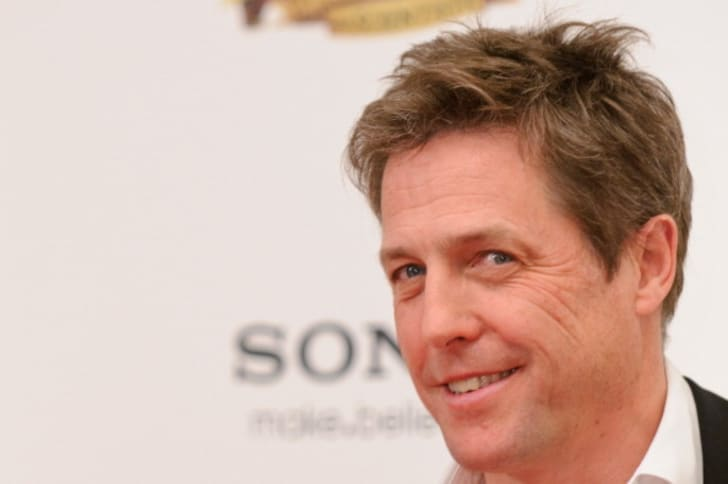 Hugh Grant attends the UK premiere of 'The Pirates! In An Adventure With Scientists' at The Mayfair Hotel on March 21, 2012 in London, England
