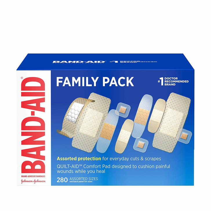 A family pack of Band-Aids
