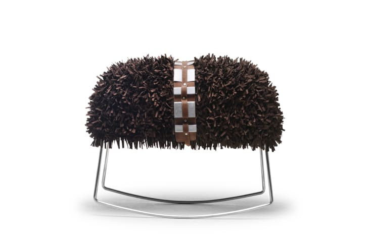 Chewie stool inspired by Star Wars.