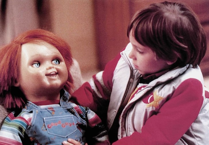 Brad Dourif and Alex Vincent in Child's Play (1988)