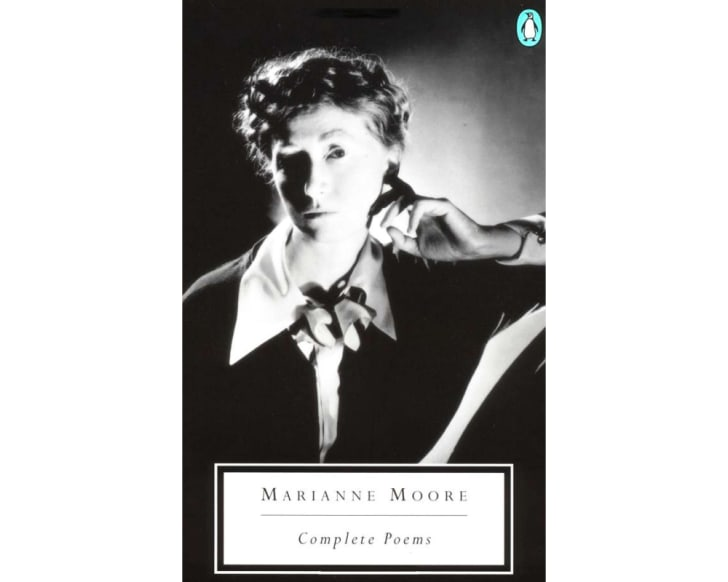 The cover of Marianne Moore's 'Complete Poems'