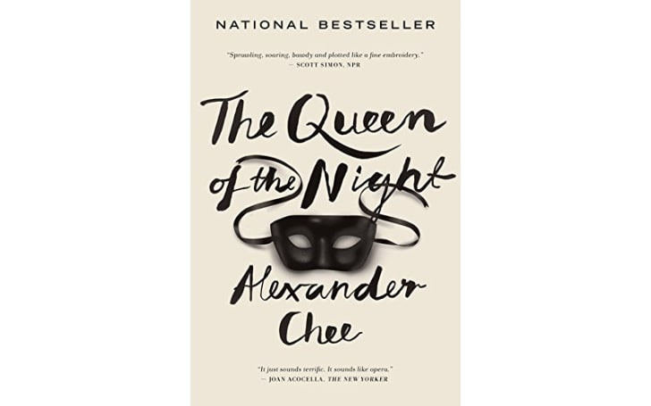 The cover of 'The Queen of the Night'