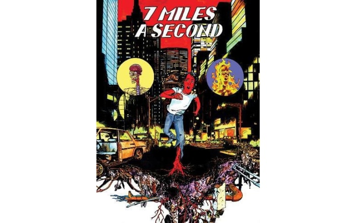 The cover of '7 Miles a Second'