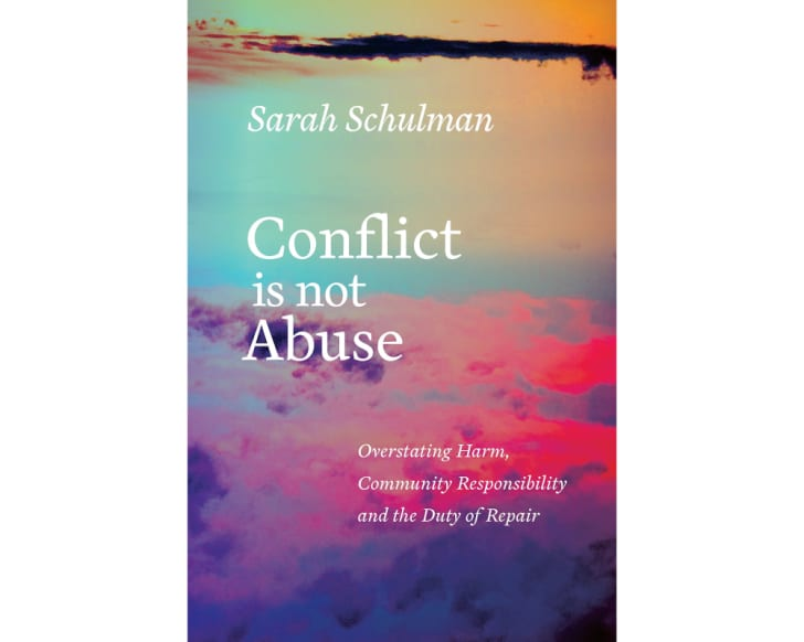 The cover of 'Conflict Is Not Abuse'
