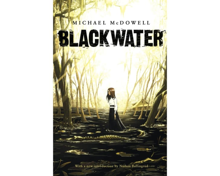 The cover of 'Blackwater'