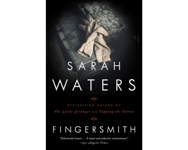 The cover of 'Fingersmith'