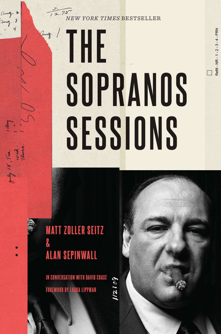 The cover of the book 'The Sopranos Sessions.'