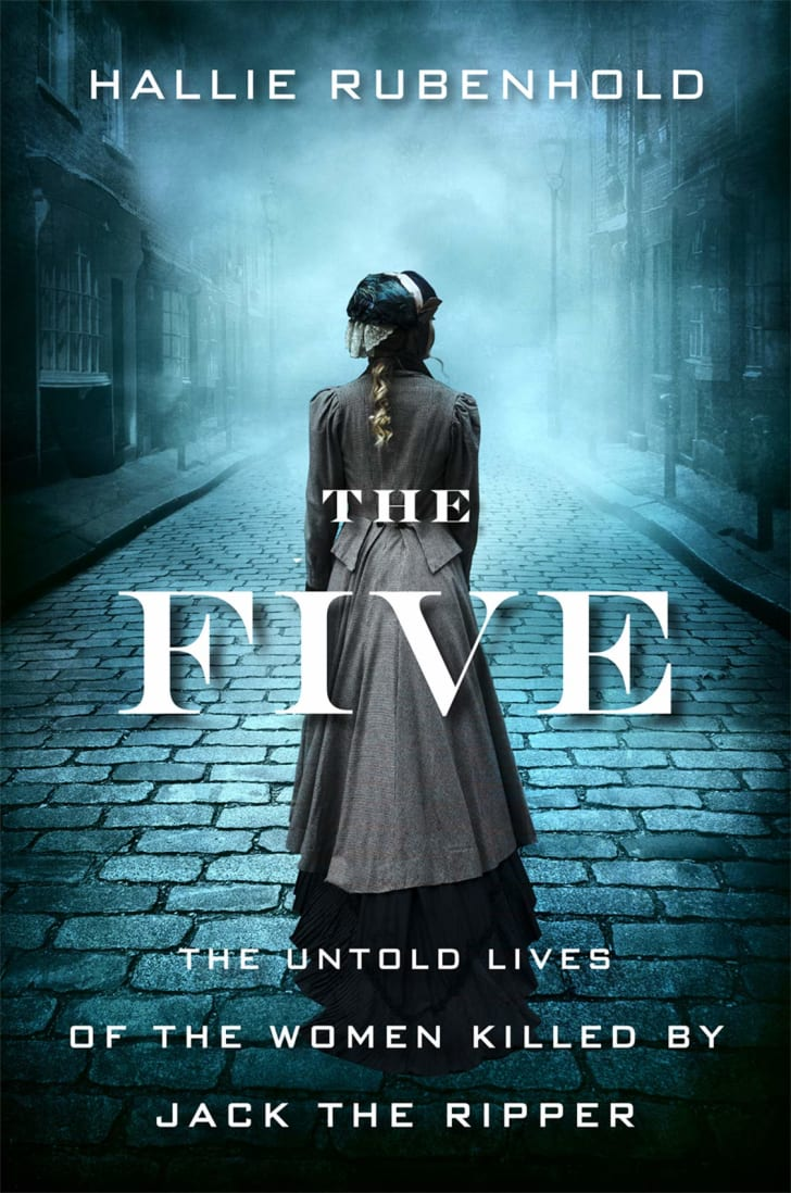 The cover of Hallie Rubenhold's book 'The Five.'