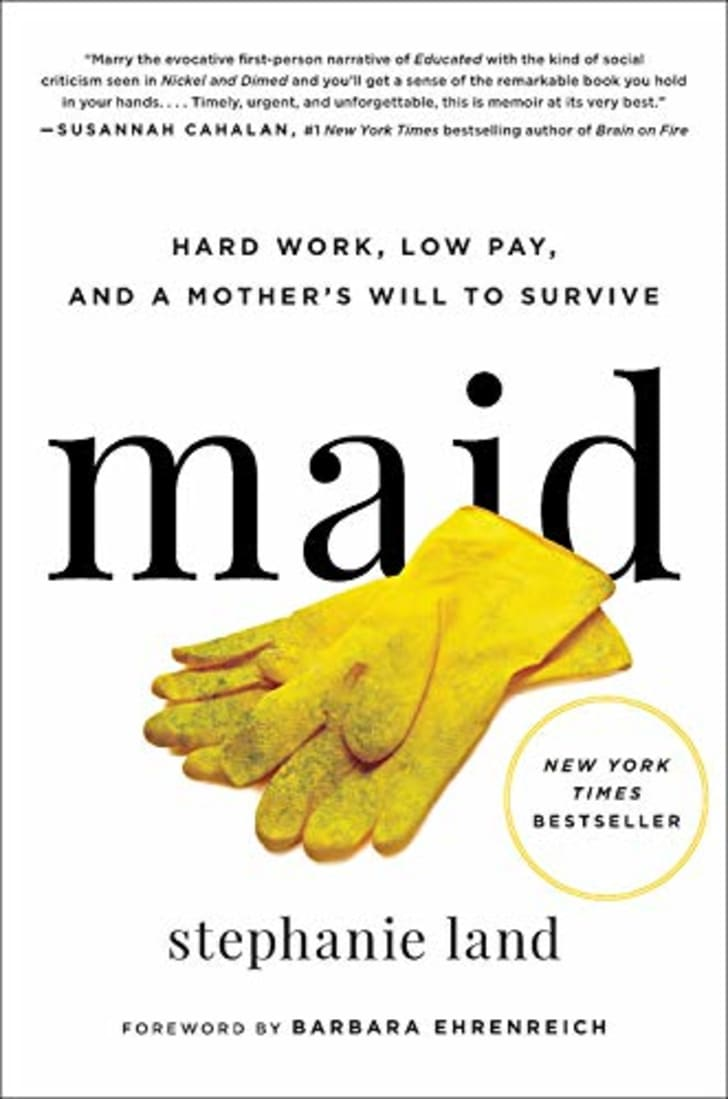 The cover of Stephanie Land's book 'Maid.'