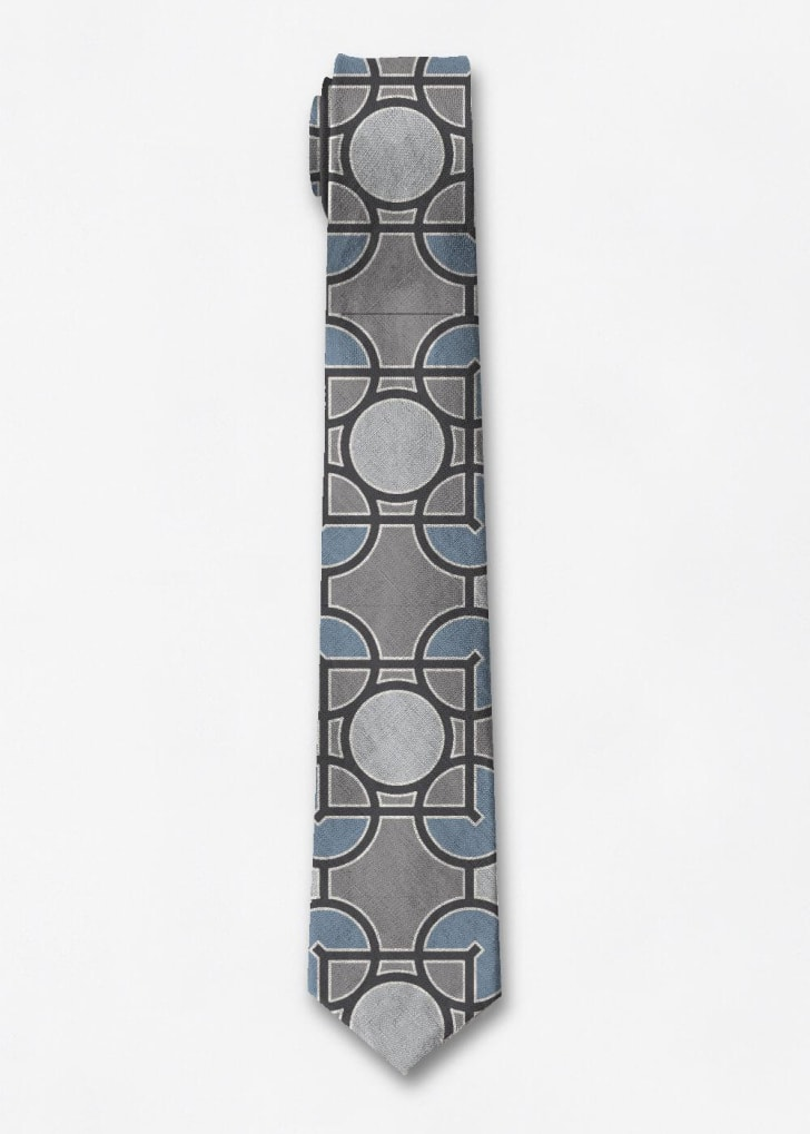 Tie with Frank Lloyd Wright design