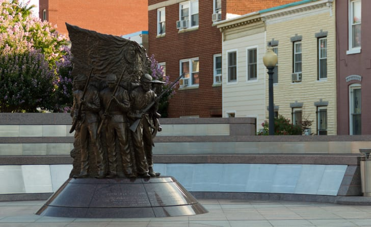 African American Civil War Memorial, Arlington, Virginia