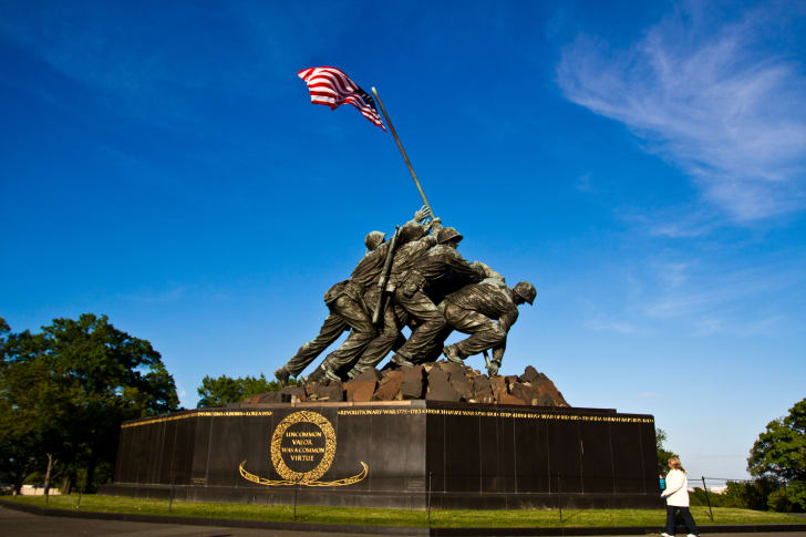 Marine Corps Memorial Iwo Jima Statue, Arlington, Virginia