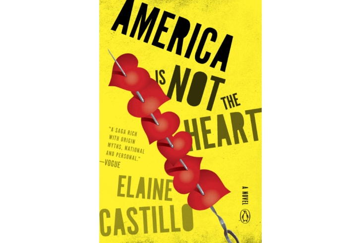 The cover of 'American Is Not the Heart' by Elaine Castillo