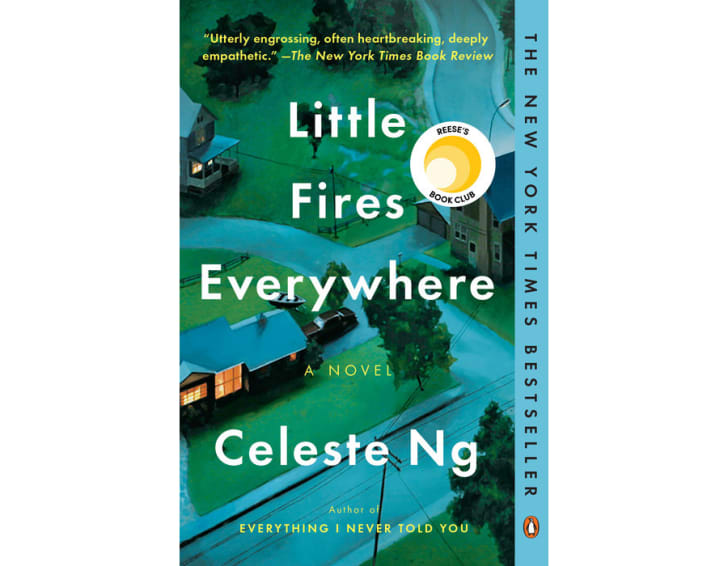 The cover of 'Little Fires Everywhere' by Celeste Ng