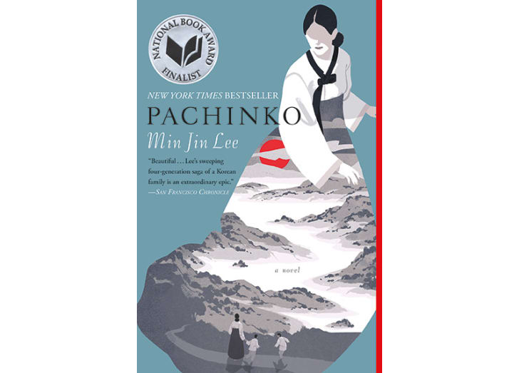 The cover of 'Pachinko' by Min Jin Lee