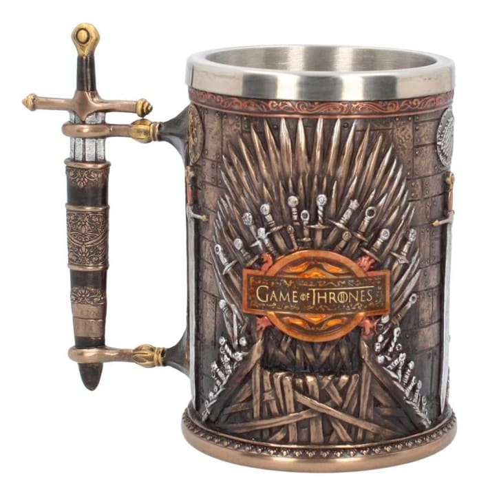 A 'Game of Thrones' Iron Throne-inspired tankard