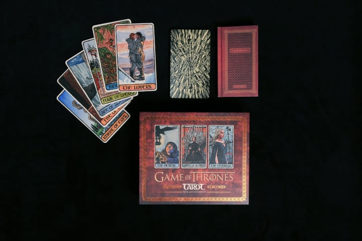 A 'Game of Thrones' tarot card deck, from Chronicle Books