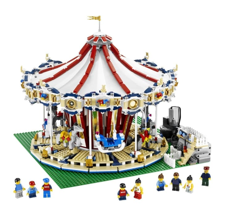 LEGO Grand Carousel set.