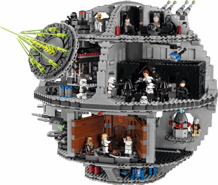 LEGO Death Star set.