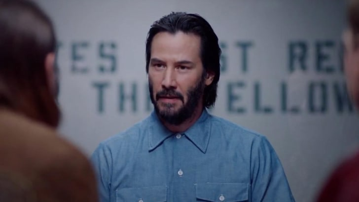 Keanu Reeves in 'Swedish Dicks'