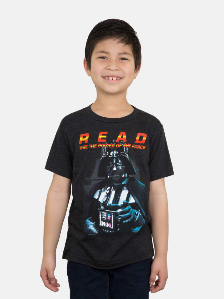 An Out of Print T-shirt featuring Darth Vader