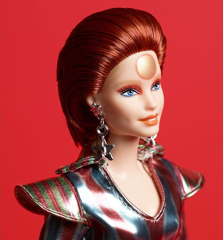 David Bowie Barbie doll from Mattel.