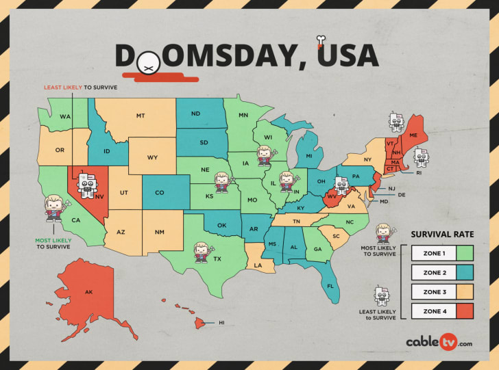CableTV.com's Doomsday USA map