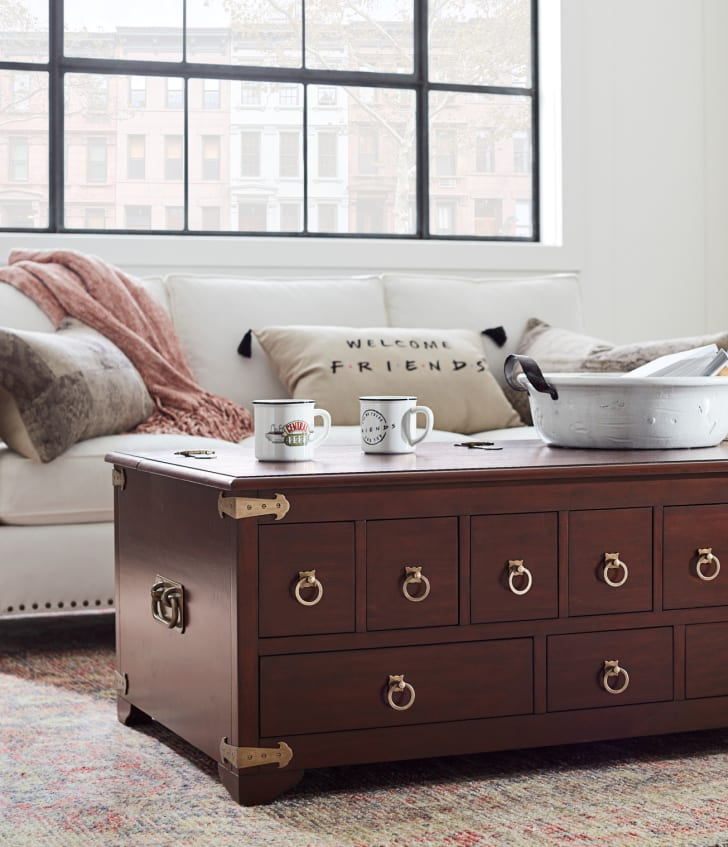 Pottery Barn's 'Friends' furniture collection