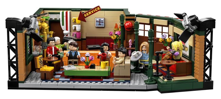 LEGO Friends Central Perk Set