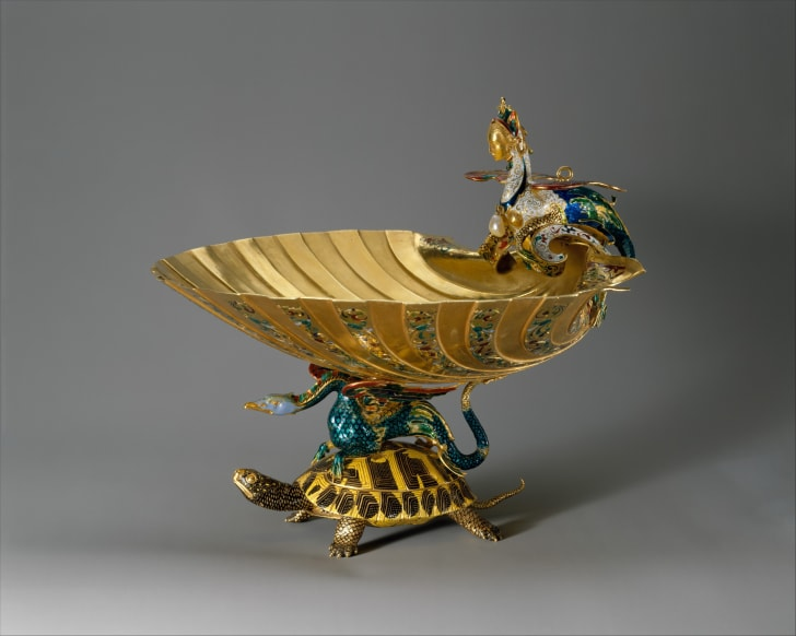 Copy of the Rospigliosicup formerly attributed to Benvenuto Cellini.