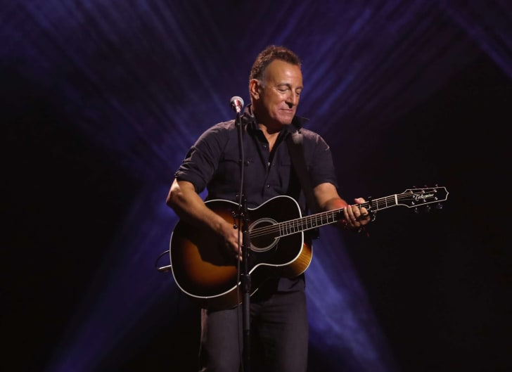 Bruce Springsteen performs during the closing ceremony of the Invictus Games 2017 at Air Canada Centre on September 30, 2017 in Toronto, Canada