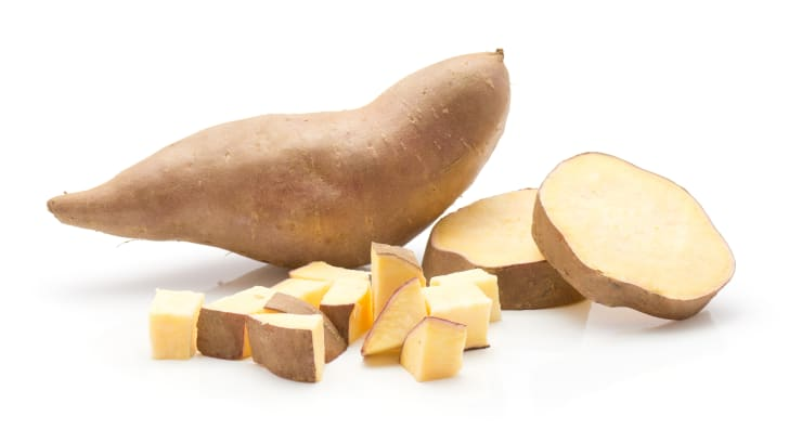 Also sweet potatoes.