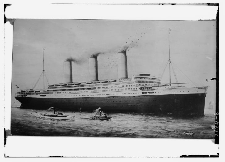 ss imperator in 1912