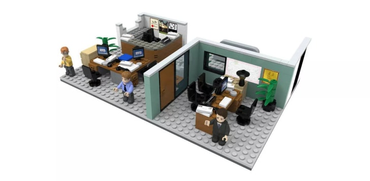 The Office construction set.